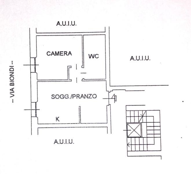 Affittasi bilocale 50MQ arredato e ristrutturato Corso Sempione